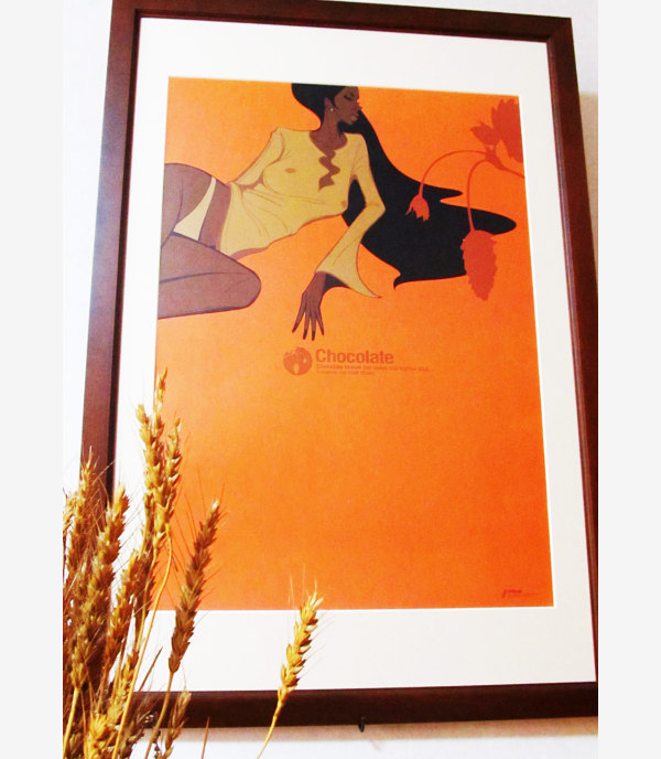 マツザワサトシ, Satoshi Matsuzawa, CHOCOLATE, poster, ポスター