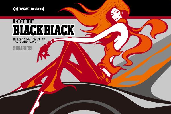 マツザワサトシ, Satoshi Matsuzawa, BLACK BLACK, J-WAVE, LOTTE