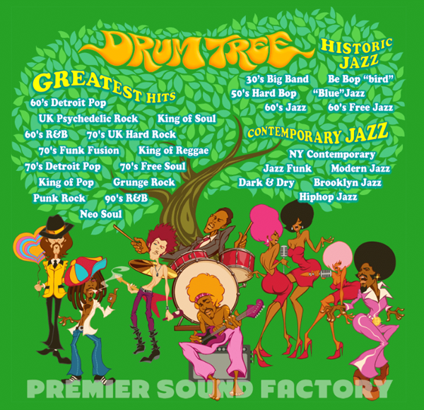 マツザワサトシ, Satoshi Matsuzawa, DRUM TREE, PREMIER SOUND FACTORY