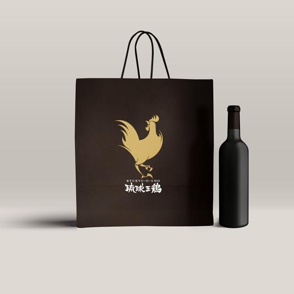 マツザワサトシ,Satoshi Matsuzawa,デザイン,desigin,琉球王鶏,ロゴ,logo,ニワトリ,